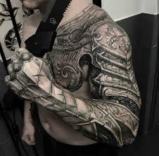 body armor tattoo
