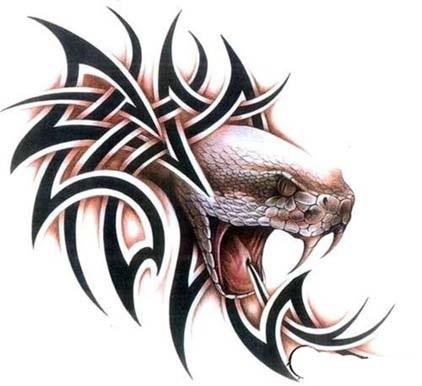 Snakes tattoo
