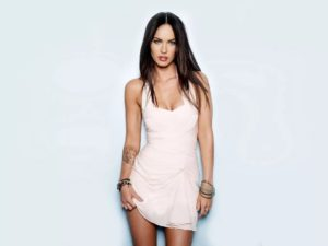 megan fox shoulder tattoo