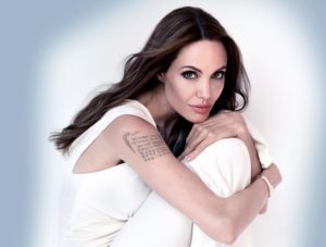 angelina jolie arm tattoo coordinates, angelina jolie arm tattoos, angelina jolie coordinate tattoos, angelina jolie hand tattoos