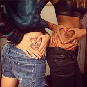 Cara Delevingne's tattoo