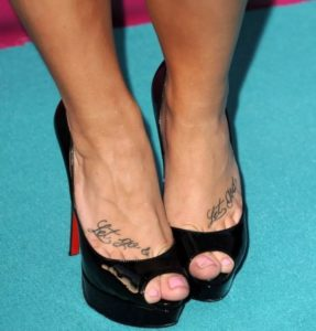 Demi Lovato's Tattoos