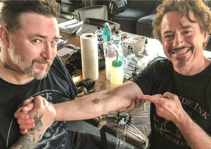 Robert Downey Jr. Avengers Tattoo