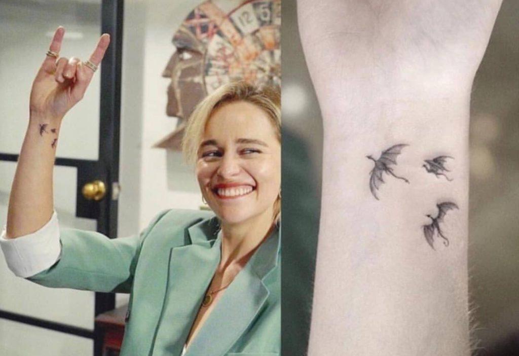 Emilia Clarke Tattoos