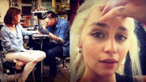Emilia Clarke Tattoo