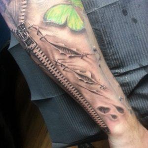 3D tattoos