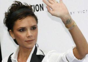 Victoria Beckham's Tattoos