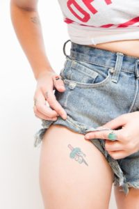 Halsey tattoos