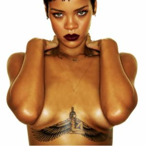 rihanna chest tattoo ,rihanna chest tattoo temporary, rihanna tattoo under boobs, rihanna tattoo under breast, rihanna tattoo under her breast