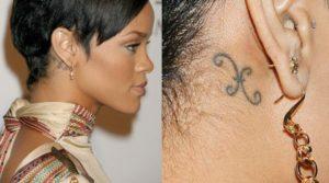 rihanna belly tattoo