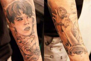 Robert Kardashian Tattoos