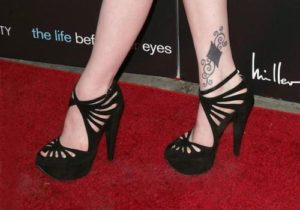 Evan Rachel Wood diamond tattoo designs