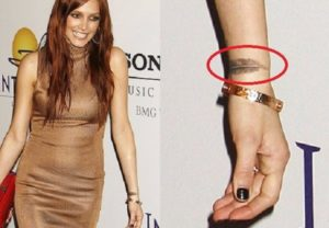 Ashlee Simpson's Tattoos