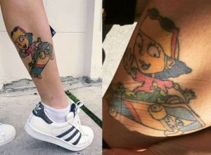 Kehlani's Tattoos