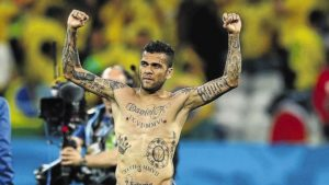 Dani Alves Tattoos