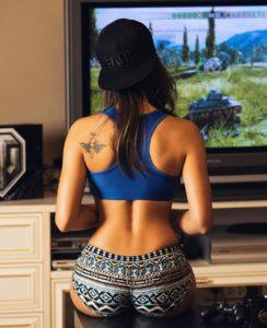 Irina Dreyt's tattoo