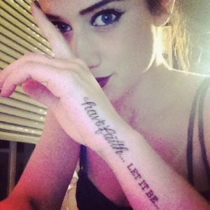 Katie Waissel Tattoos