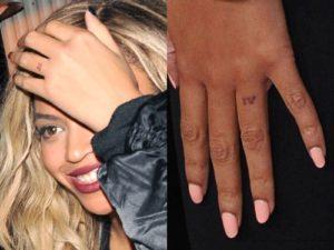Beyonce tattoos