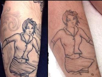 Tattoos fade