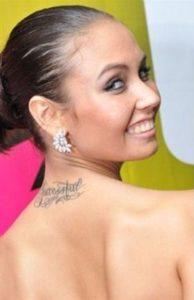 Lyasan Utiasheva tattoos