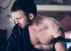 chris evans puncture tattoos