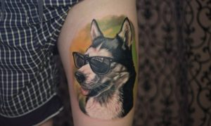 Husky tattoos designs, husky tattoos,
