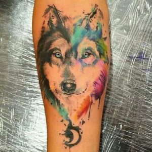 Husky tattoo design, husky tattoo ideas, siberian husky tattoo