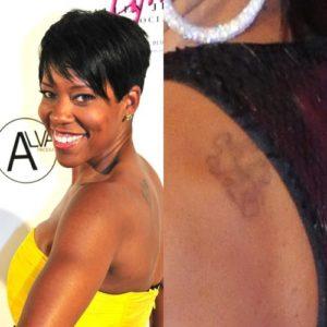 Regina King Tattoos