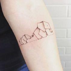 Origami Tattoo Designs