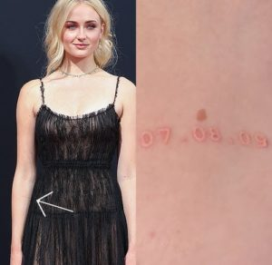 Sophie Turner tattoos
