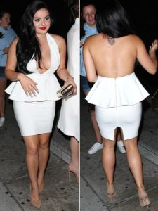ariel winter back tattoo