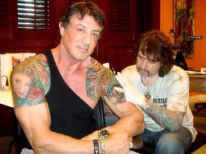 sylvester stallone tattoo artist