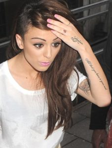 cher lloyd and harry styles matching tattoos