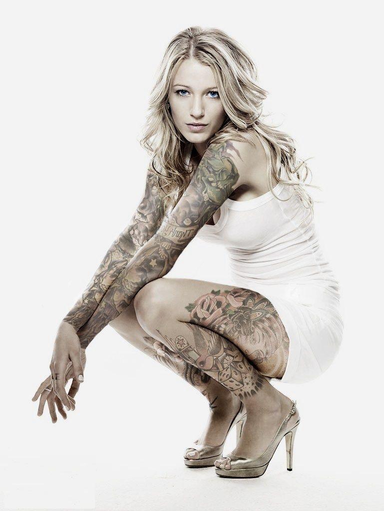 blake lively tattoos