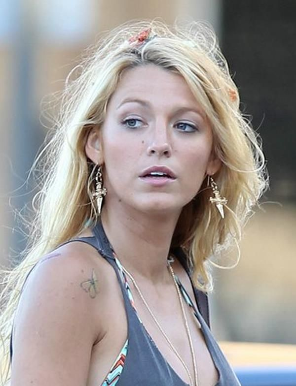 blake lively tattoos
