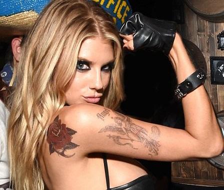Charlotte McKinney Tattoos