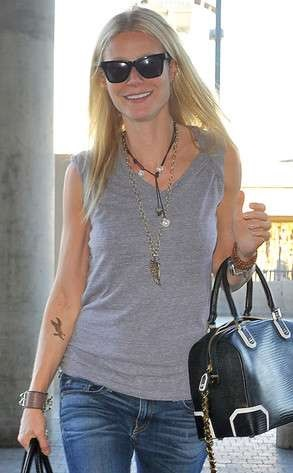 Gwyneth Paltrow tattoos