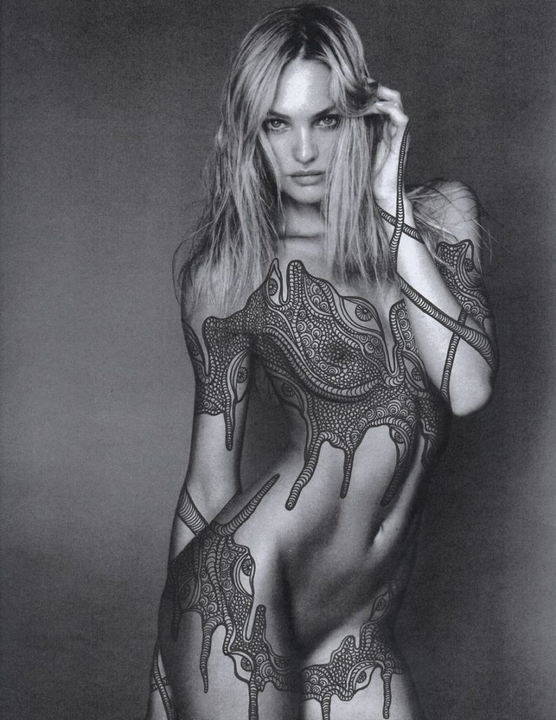 Candice Swanepoel Tattoo